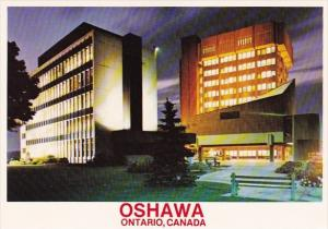 Canada The Distinctive Civic Square Oshawa Ontario