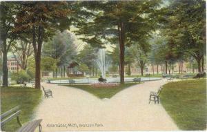 D/B Bronson Park Kalamazoo Michigan MI
