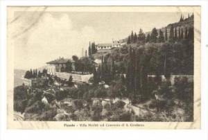 Villa Medici Col Convento Di S. Girolamo, Fiesole (Florence), Italy, 1900-1910s