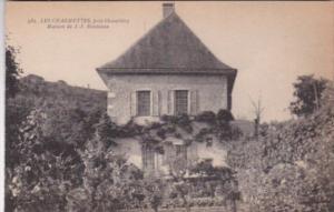 France Chambery Les Charmettes Maison de J J Rousseau