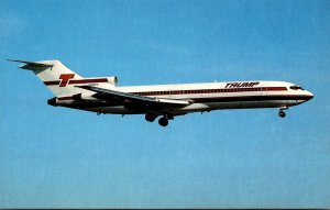 Trump Shuttle Boeing 727-214