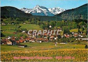 Modern Postcard Bad kohlgrub on OBB hochstgelegenes Stahl u Moorbad deutschland