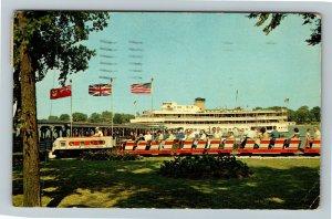 Amhertsburg ON-Ontario Canada, Bob-Lo Island Park, Chrome c1965 Postcard