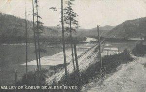 COEUR D'AlENE valley , Idaho , 1900-10s ; River