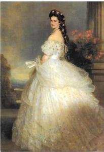 Empress Elisabeth of Austria 1865. Beautiful