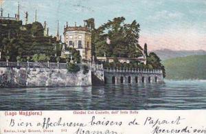Giardini Col Castello Dell' Isola Bella, Lago Maggiore, Italy, 1900-1910s