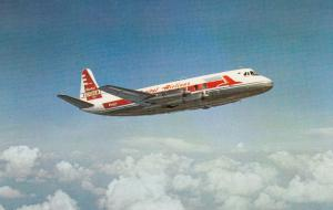 CAPITAL Airlines Viscount airplane inflight 50-60s