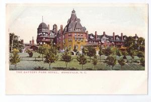 Asheville NC Battery Park Hotel UDB J.H. Law c 1907