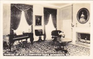 Parlor Of My Old Kentucky Home Bardstown Kentucky Real Photo