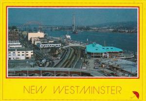 Canada British Columbia New Westminster Panoramic View