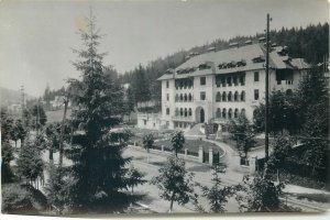 Romania Predeal vedere Postcard