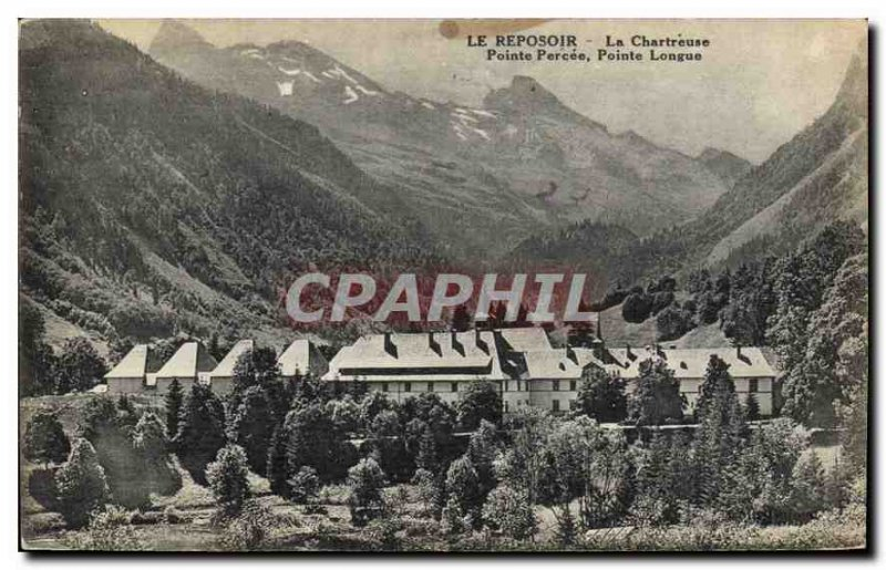 Postcard The Old Reposoir Chartreuse Pointe Percee Long Point