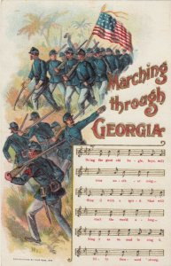 Song ; Marching through Georgia , 1908