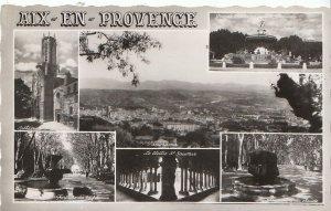 France Postcard - Views of Aix-En-Provence   1755