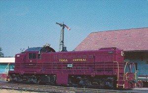 Tioga Central Railroad Locomotive No 62 ALCO RS-1