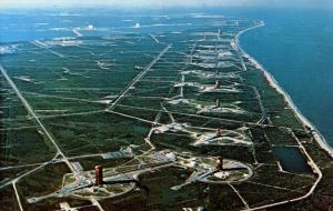 FL - Kennedy Space Center. Aerial View of Missle Row      (NASA/Astronomy)