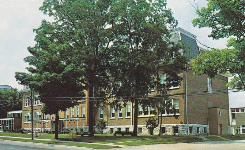 Lindsay Collegiate & Vocational Institute In Lindsay, Ontario, Canada, 1940-1...