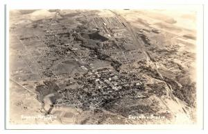 RPPC Aerial View of Susanville, CA Real Photo Postcard *4W