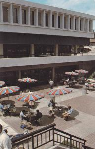 Students Relaxing at College Union Patio, California State University, Fresno...