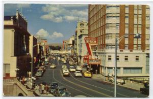 Virginia Street Scene Reno Nevada 1950s postcard