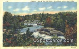 Keshena Falls, Wolf River