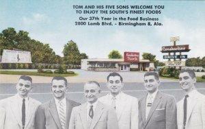 Alabama Birmingham Constantine Drive In Restaurant sk6755