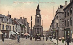 BERWICK on TWEED , England , 00-10s ; High Street & Town Hall