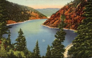 New Mexico Eagle Nest Lake and Dam Curteich