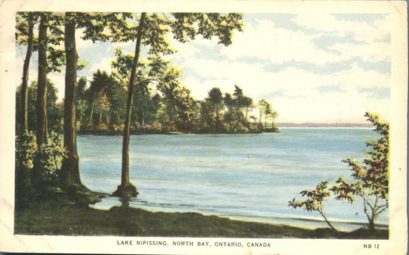 Lake Nipissing at North Bay, Ontario, Canada