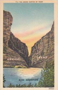 Texas San Antonio The Grand Canyon Of Texas Mexico Texas Rio Grande