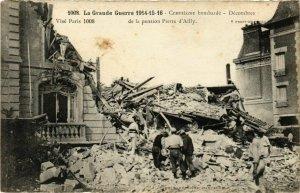 CPA AK COMPIEGNE bombardé Décombes de la pension Pierre d'Ailly (864982)