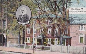 Longfellow Mansion Portland Maine 1909