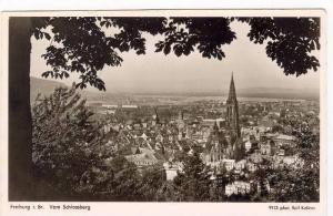 RP, Vom Schlossberg, Freiburg im Breisgau (Baden-Württemberg), Germany, 1920...