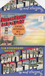 Fulton Chain Region , Central Adirondack Mts , New York , 1930-40s