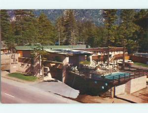 Unused Pre-1980 OLD CARS & EL RU MOTEL Stateline California CA s6138