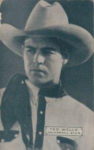 Cowboy Actor TED WELLS, 30s-40s, # 2