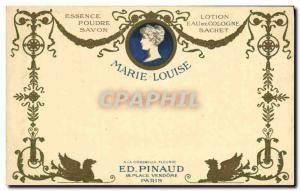 Old Postcard Parfumerie Ed Pinaud Place Vendome Paris Marie Louise Cologne