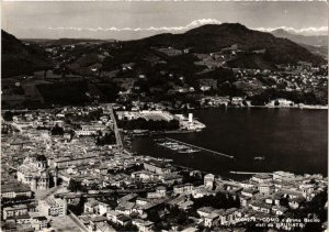 CPA Como e Primo Bacino visti da Brunate . ITALY (541171)