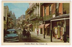 New Orleans, La., Bourbon Street