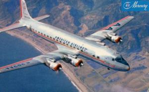 American Airlines - DC7 Mercury