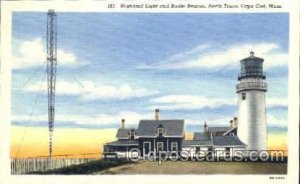 Highland Light, Cape Cod, MA Light House, Houses Lighthouse, Postcard Postcar...
