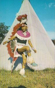 Harvey Navajo Indian Dancer At Indian City USA Oklahoma