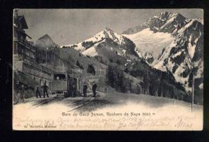 041503 Switzerland Jaman Rochers station Vintage PC