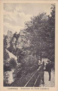 Bockfelsen Mit Reine Lutzelburg, Luxembourg, 1900-1910s