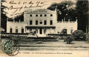 CPA PARIS 16e-Bois de Boulogne-La Villa de Longchamp (325985)