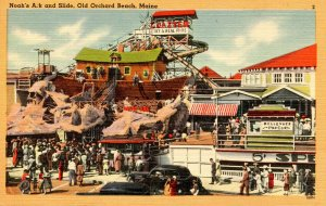 ME - Old Orchard Beach. Noah's Ark and Slide