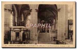 Postcard Abbey of Saint Denis of the Interieur & # 39eglise The perimeter of ...