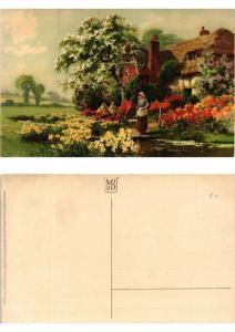 CPA Trauliches Heim Meissner & Buch Litho Serie 1913 (730403)