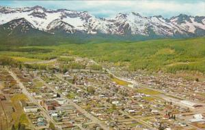 Canada British Columbia Fernie Aerial View