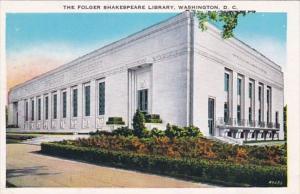 Washington D C The Folger Shakespeare Library